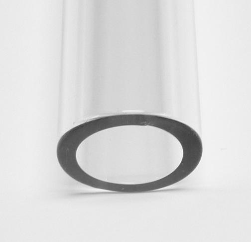 22mm 3.0 Borosilicate Clear Tube - Click Image to Close