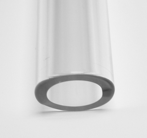 25mm 4.0 Borosilicate Clear Tube - Click Image to Close