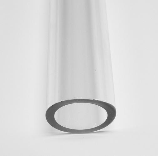 31.7mm 4.0 Borosilicate Clear Tube - Click Image to Close