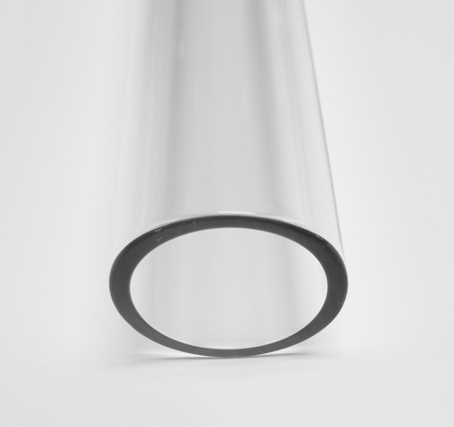 32mm 2.8 Borosilicate Clear Tube - Click Image to Close