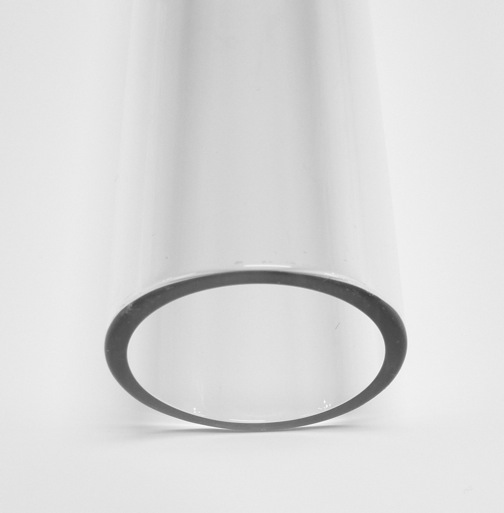 38mm 2.8 Borosilicate Clear Tube - Click Image to Close