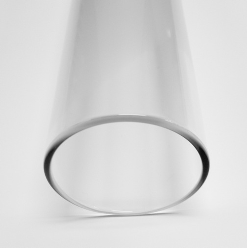 50mm 2.5 Borosilicate Clear Tube - Click Image to Close
